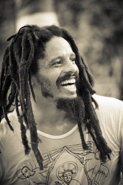 JM02278 Rohan Marley, Bob Marley Museum, Kingston, St. Andrew Parish, Jamaica, Caribbean