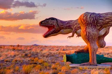 US04292a USA, Arizona, Holbrook, Route 66, Dinosaur