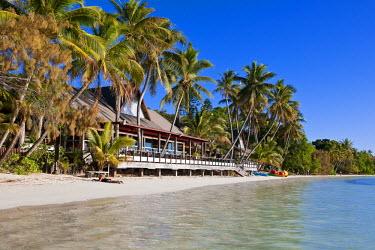 HMS356234 New Caledonia, isle of Pines, Kuto Bay, Kou Bugny Hotel