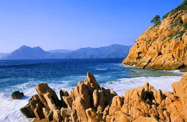 HMS218585 France, Corsica, Ficajola beach