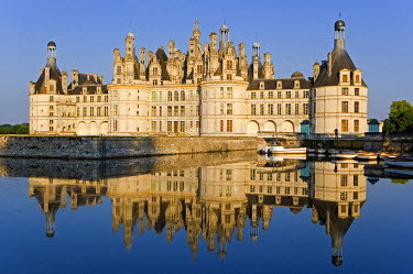 HMS306841 France, Loir et Cher, Loire Valley listed as World Heritage by UNESCO, Chateau de Chambord