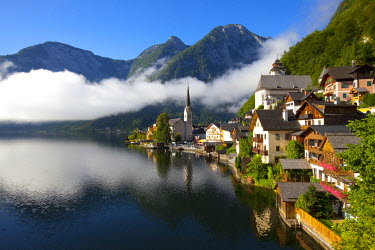 AU04236 Hallstatt, Hallstattersee, Oberosterreich, Upper Austria, Austria