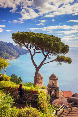 IT06558 Italy, Amalfi Coast, Ravello, Villa Rufolo (MR)