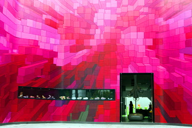 BRA1651AW South America, Brazil, Sao Paulo state, Sao Paulo city, the Galeria Melissa flagship store on Rua Oscar Freire in Jardins