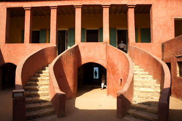 HMS259050 Senegal, Goree Island listed as World Heritage by UNESCO, the house of Slaves dating from 1786 and built by the Dutch, it is the last slavery in Goree