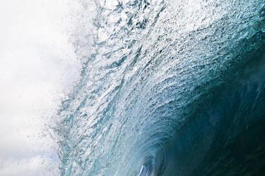 AR4556600013 Avana Passage, Rarotonga, Cook Islands. A Wave Breaking Over A Reef, Rarotonga, Cook Islands.