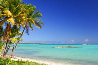 HMS662297 Caribbean, Guadeloupe (French West Indies), Grande Terre, Saint Francois, Plage du lagon (Lagoon beach)