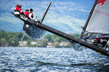 Geneva, Geneva, Switzerland. Vulcain Trophy, Grand Prix Les Ambassadeurs, Geneva, May 5Th 2012: Vulcain Trophy - Artemis Racing Decision 35 - The Fleet Race Of The Grand Prix Les Ambassadeurs, Geneva,...