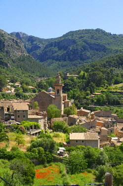 SPA4948AW Monastery in Valldemossa, Valldemosa, Majorca, Balearics, Spain