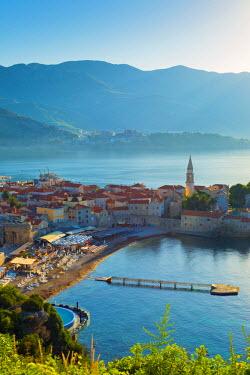 MR01095 Montenegro, Budva, Old Town, Stari Grad