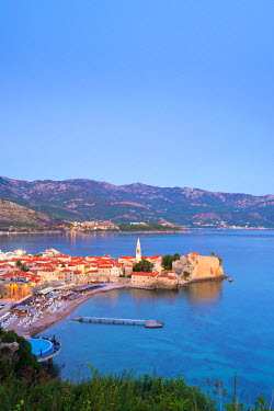 MR01097 Montenegro, Budva, Old Town, Stari Grad