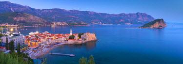 MR01098 Montenegro, Budva, Old Town, Stari Grad