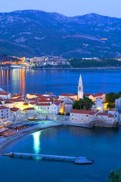 MR01099 Montenegro, Budva, Old Town, Stari Grad