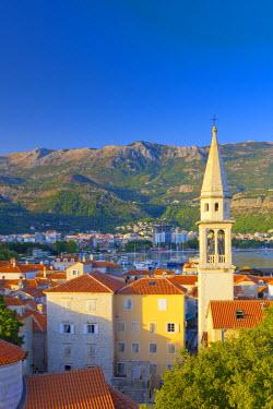 MR01107 Montenegro, Budva, Old Town, Stari Grad, Sveti Ivan, Church of Saint John