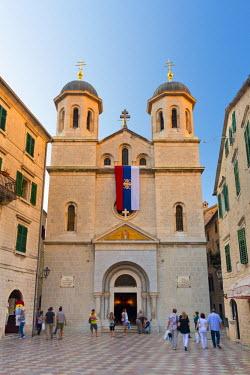MR01131 Montenegro, Bay of Kotor, Kotor, Trg Sveti Luke, St. Nicholas Church