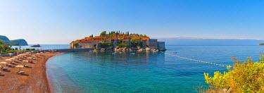 MR01166 Montenegro, Sveti Stefan, now Aman Sveti Stefan Hotel