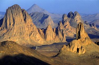 HMS0165624 Algeria, Sahara, Hoggar (Ahaggar Mountains), Tamanrasset, Assekrem pass