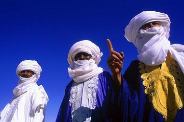 HMS0087964 Algeria, Sahara area, Tassili N'Ajjer, Djanet oasis, Tuaregs