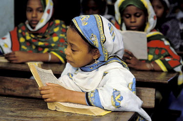HMS0087585 Comores Republic, Ngazidja (Grande Comore), Moroni, coranic school