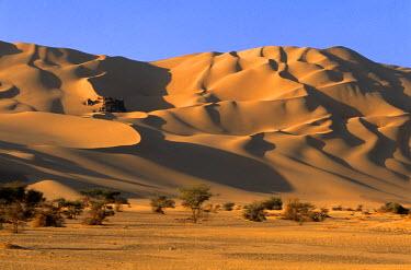HMS0018101 Niger, Sahara, Tenere Desert, Sand Dunes of Arakao (Crab Claw)