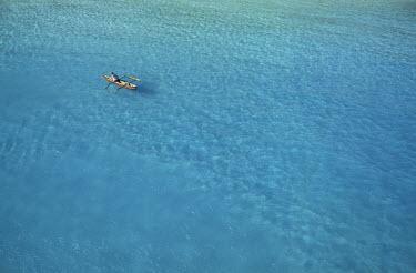 HMS0107271 Republic of Comoros, Great Comoro, Maloudja beach (aerial view)