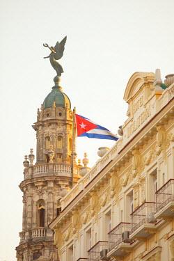 CB01463 Hotel Inglaterra and Gran Teatro, Havana, Cuba