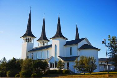 ICE3177 Iceland, Reykjavik, Hateigskirkja church