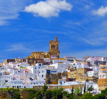 ES05850 Spain, Andalucia, Cadiz Province, Arcos de la Frontera, a Pueblo Blanco, White Village