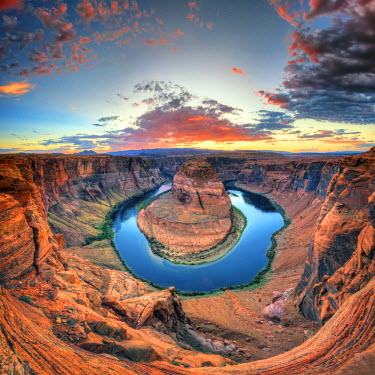 US04486 USA, Arizona, Page, Horseshoe Bend Canyon