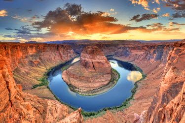 US04490 USA, Arizona, Page, Horseshoe Bend Canyon