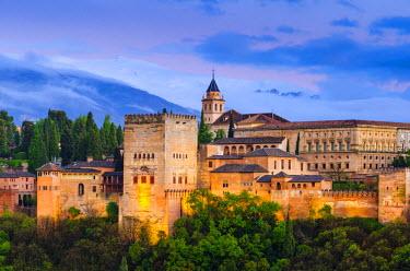 ES05873 Spain, Andalucia, Granada Province, Granada, Alhambra