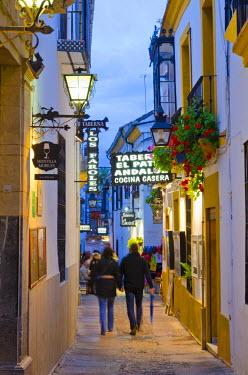 ES05905 Spain, Andalucia, Cordoba Province, Cordoba, Alleyways