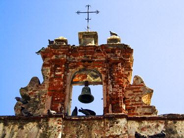 CA27MGL0050 Puerto Rico, Old San Juan, Capilla del Cristo, just outside the Parque de las Palomas