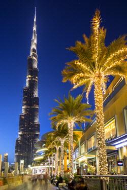 UE01469 Burj Khalifa (world's tallest building), Downtown, Dubai, United Arab Emirates