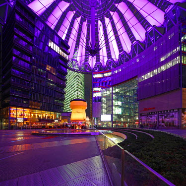 GER7780 The Sony Center is a Sony-sponsored building complex located at the Potsdamer Platz in Berlin, Germany.