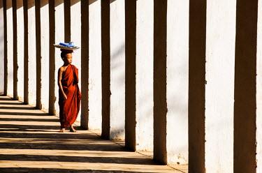 MYA1608AW A Buddhist monk, Mandalay, Burma/ Myanmar
