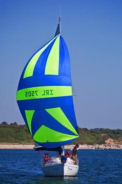 IRL0128 Ireland, Wicklow Arklow, Ferrybank,  Niamh Cinn Oir,  competing in the Met Masts Sailing Race 31/05/09