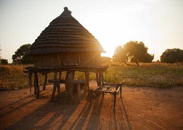 SSU0012AW Northern Bahr el Ghazal, South Sudan. Community farming project.