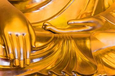 KR01243 Buddha statue inside Joyesa Temple, Jongno-gu district, Seoul, South Korea