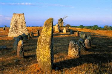 HMS0441084 Sweden, Oland island, Gettlinge, Viking tomb