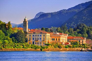 ITA1966AW Italy, Lombardy, Como district. Como Lake, Bellagio.