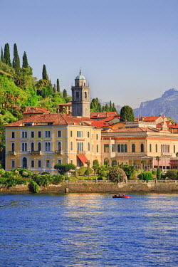 ITA1968AW Italy, Lombardy, Como district. Como Lake, Bellagio.