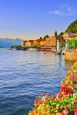 ITA1973AW Italy, Lombardy, Como district. Como Lake, Bellagio.