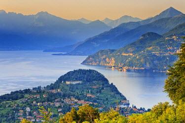 ITA1976AW Italy, Lombardy, Como district. Como Lake, Bellagio.