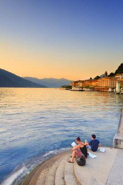 ITA1978AW Italy, Lombardy, Como district. Como Lake, Bellagio.