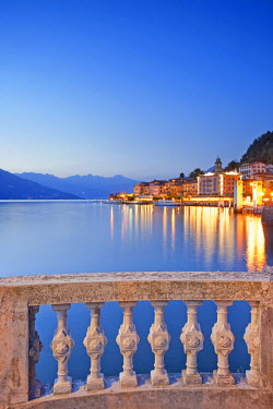 ITA1981AW Italy, Lombardy, Como district. Como Lake, Bellagio.