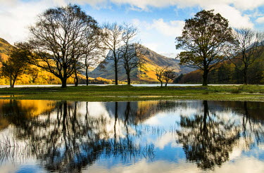 ENG10835AW Buttermere reflections, Cumbria, UK