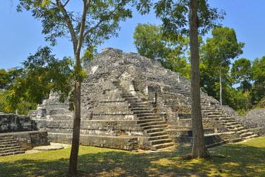 GUA1109AW Yaxha Archeologial site, Peten, Mundo Maya, Guatemala,Central America