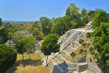 GUA1110AW Yaxha Archeologial site, Peten, Mundo Maya, Guatemala,Central America