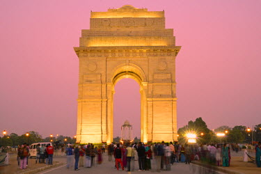 IND7087AW India Gate, New Delhi, National Capital Territory, India